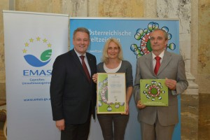 Verleihung Umweltzeichen und Ecolabel