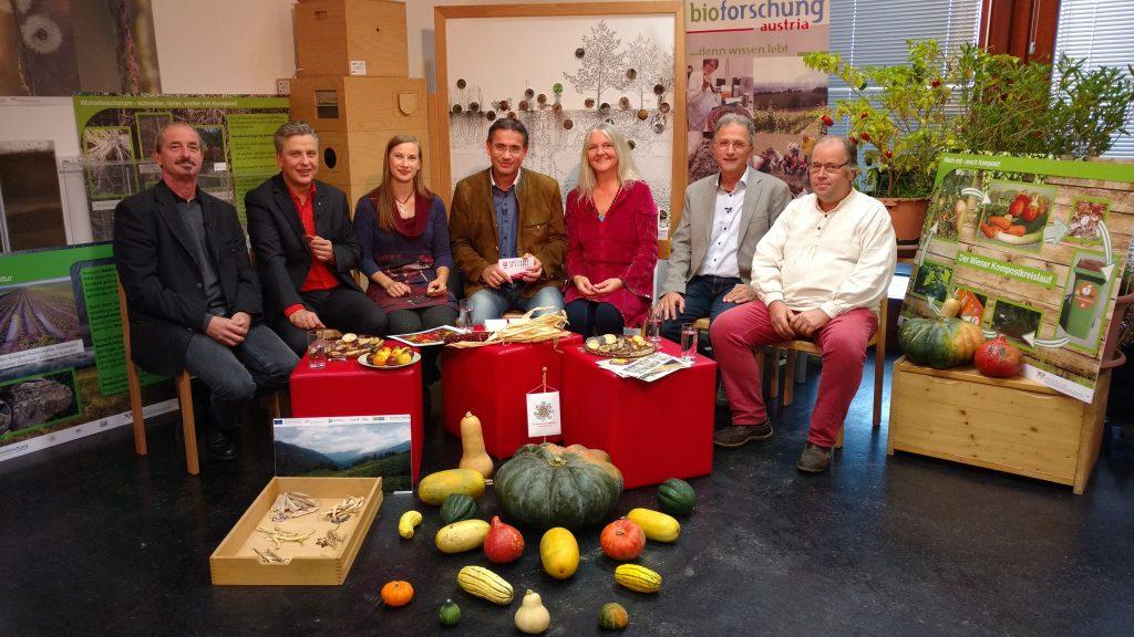 Michael Niedermaier, Josef Taucher, Katharina Roth, Gerhard Koller, Patricia Ermes, Wilfried Hartl, Christophorus Ableidinger (v.l.n.r.) © W24