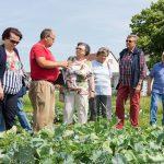 Führung durch den Garten der Vielfalt der Bio Forschung Austria