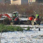 1.12. - trotz Schneelage wird fleißig gearbeitet © Bio Forschung Austria