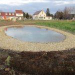 9.12. - Der Teich ist seit 1,5 Tagen mit Brunnenwasser befüllt  © Bio Forschung Austria